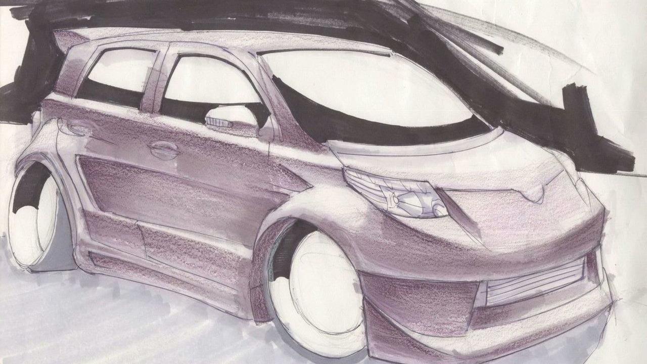 Scion xD Elite Concept by Team Auto