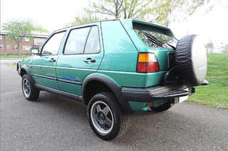 Meet the Rare Volkswagen Golf 4x4 You Didn't Know Existed