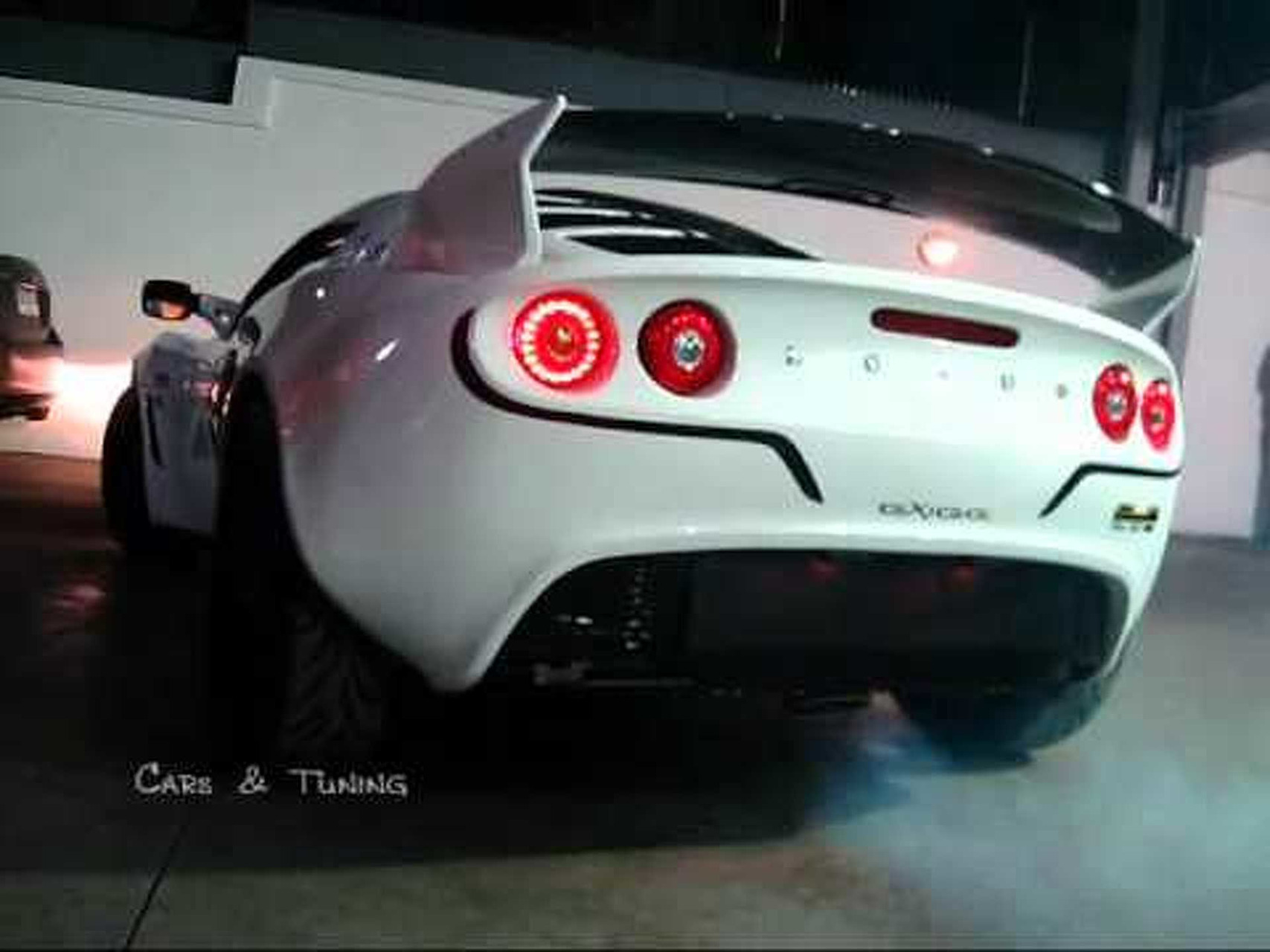 Lotus Exige Cup 260 QuickSilver Exhaust Loud Soundcheck