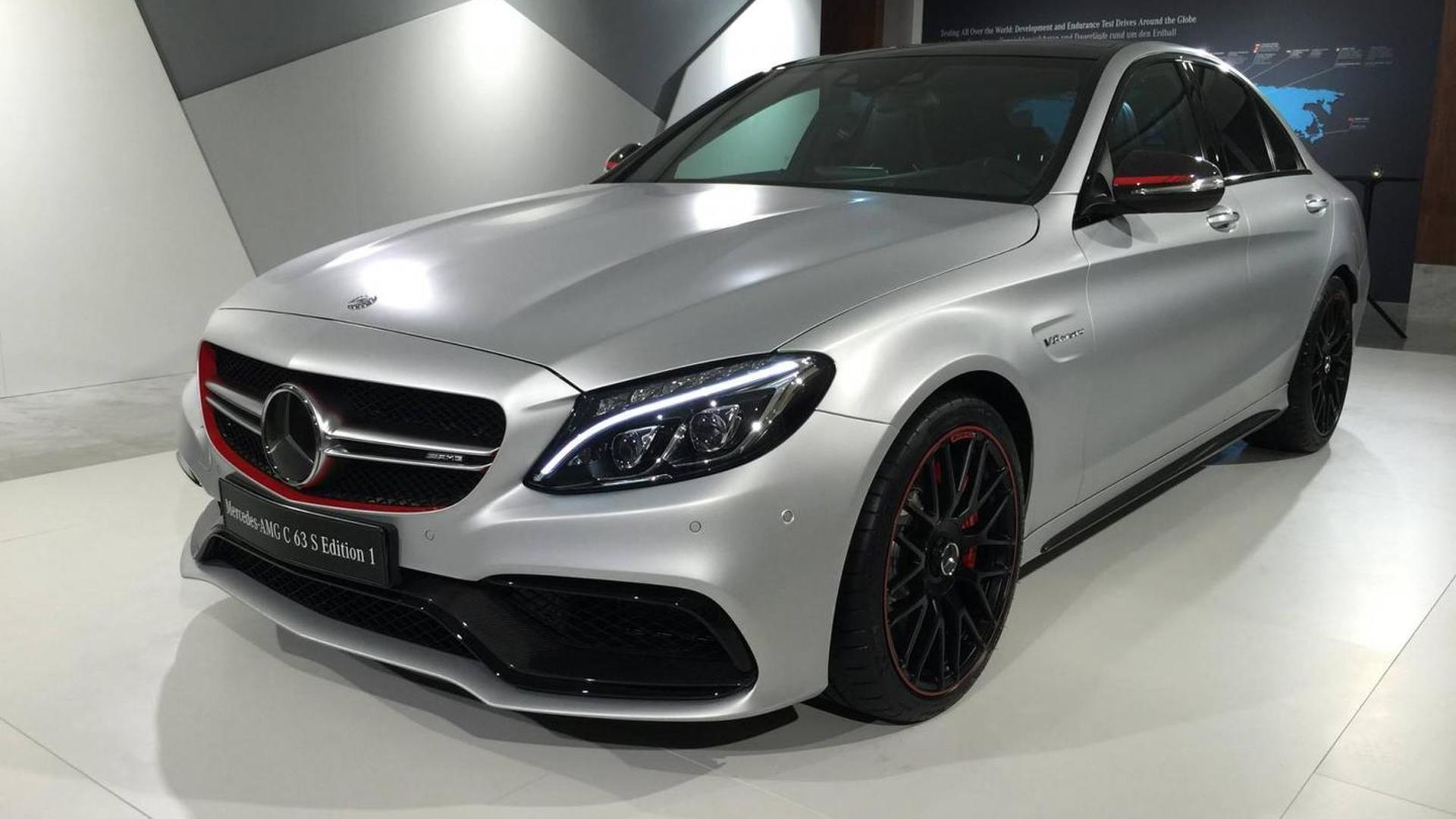 Best Buy Used Cars >> Mercedes-AMG C63 S Edition 1 photographed up close and personal