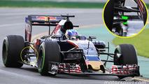 Max Verstappen, Scuderia Toro Rosso STR11 rear detail