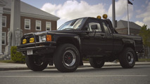 Marty McFly's truck looks like it traveled back to the future