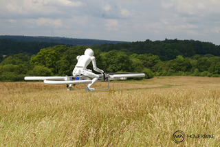 Robots Love Riding Hoverbikes Too [w/Video]