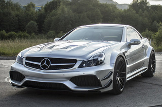 Meet the Angriest Mercedes SL Around