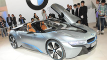 BMW i8 Concept Spyder live at Auto China 24.4.2012