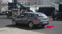 Renault Megane Grandtour Spied on Film Set Prior to Geneva Debut