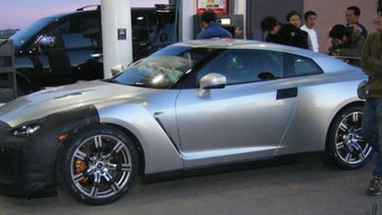 Nissan GTR Snapped in New Mexico