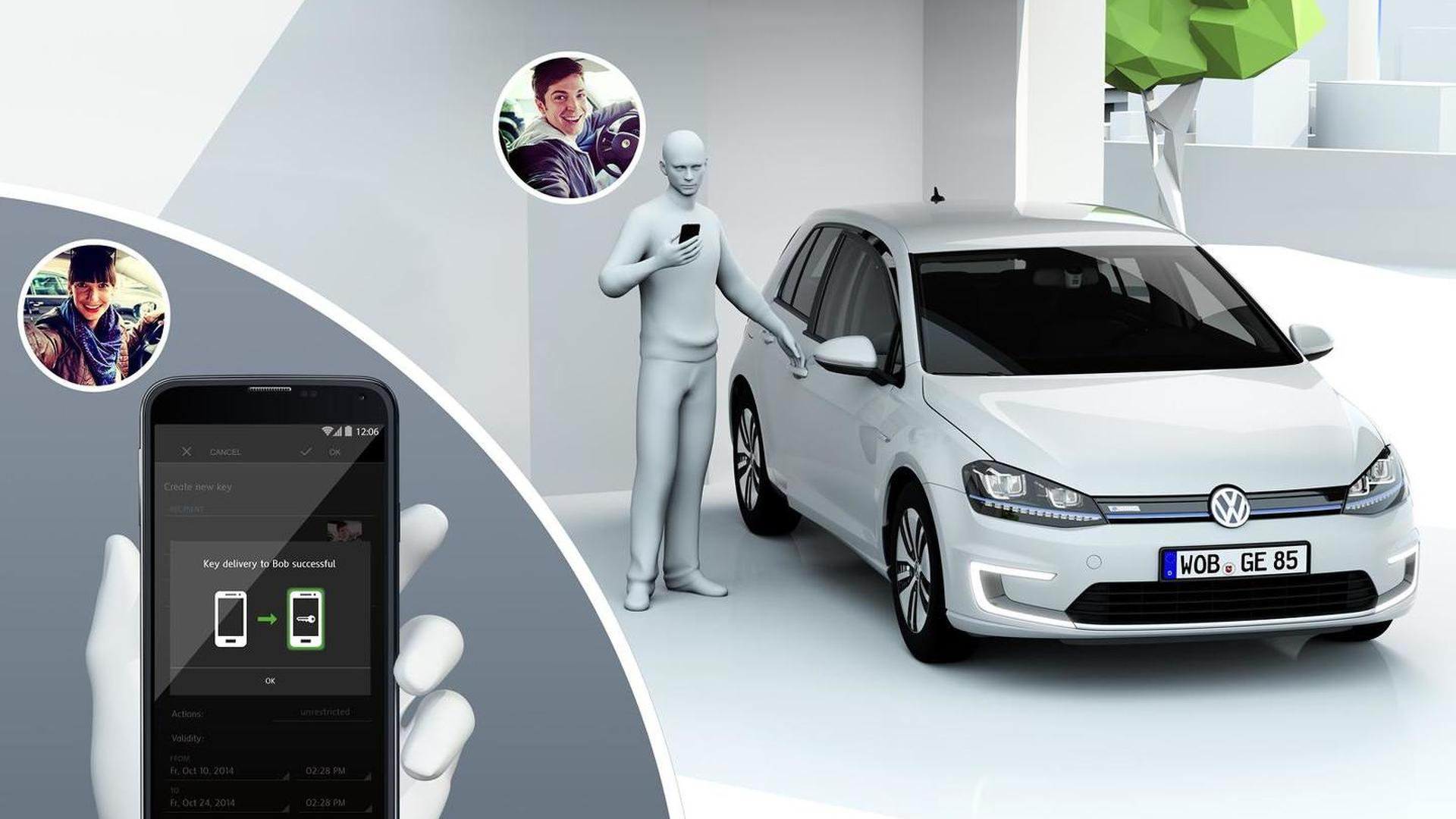 Volkswagen prepares Connected Golf concept for 2015 CES