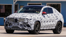 Mercedes MLC / ML Coupe spied in action [video]