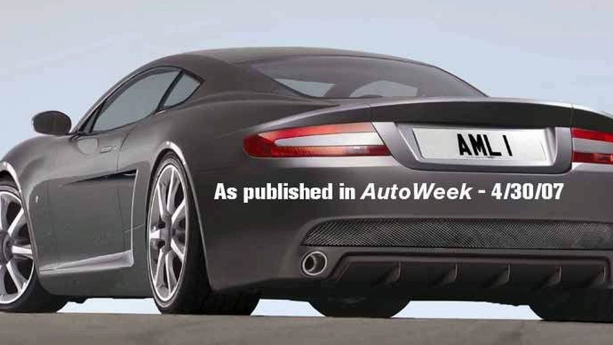 Aston Martin CEO Hints about NPX Supercar