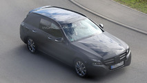 2015 Mercedes C-Class Estate spied for the first time