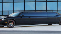 Dodge Challenger SRT8 stretch limousine [video]