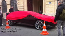 Citroen DS concept spotted in Paris 20.3.2012