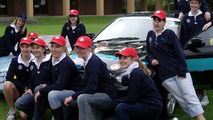 all-female team at Annesley College with Holden Viva Hatch