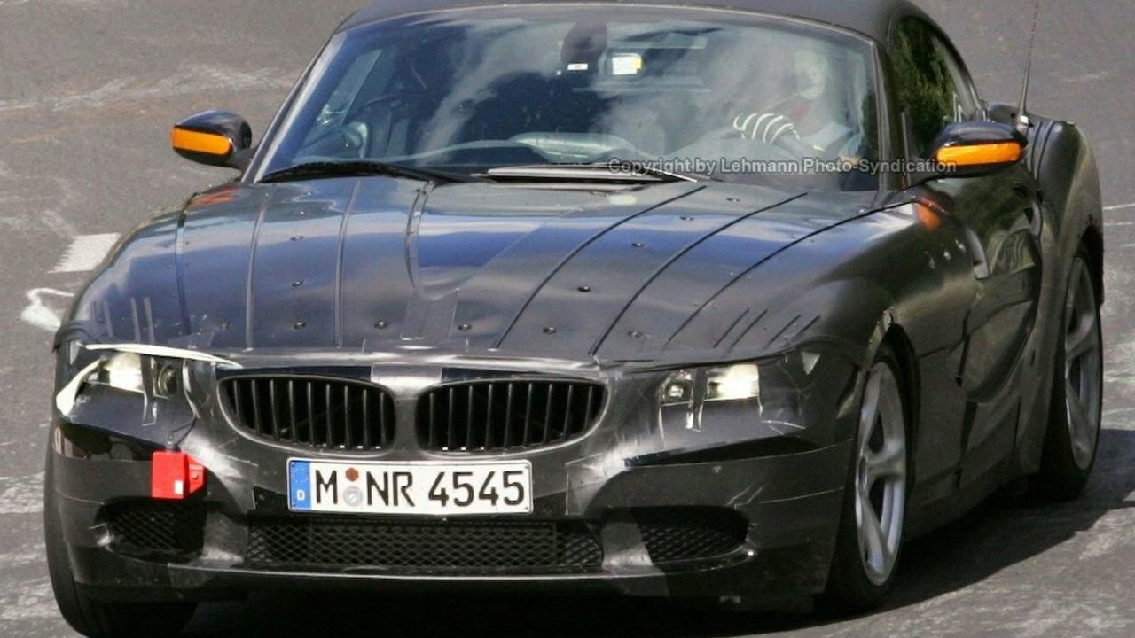New BMW Z4 interior photo