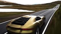 Lamborghini supercar render / Alex Imnadze