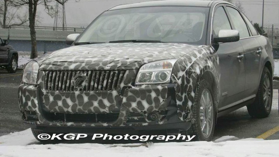 SPY PHOTOS: Mercury Montego Facelift