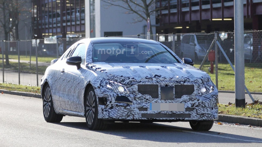 2017 Mercedes E-Class Coupe spied for the first time