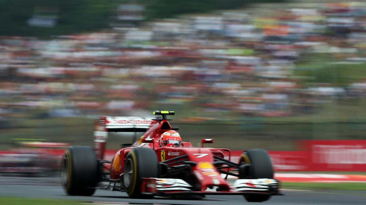Kimi Raikkonen (FIN), 27.07.2014, Hungarian Grand Prix, Budapest / XPB