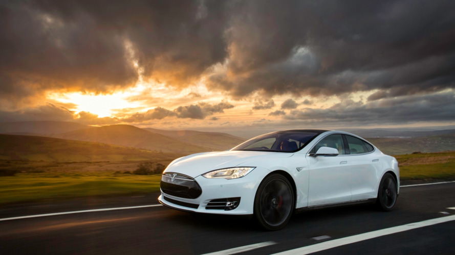 Tesla Model S catches fire after high-speed crash, driver dies