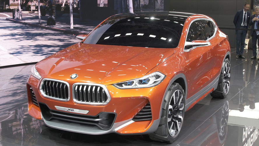 Video: BMW X2 Concept at the Paris Motor Show