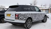 2017 Range Rover facelift spy photo