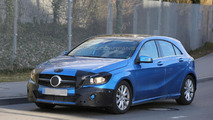 2016 Mercedes-Benz A-Class spied with minimal camouflage