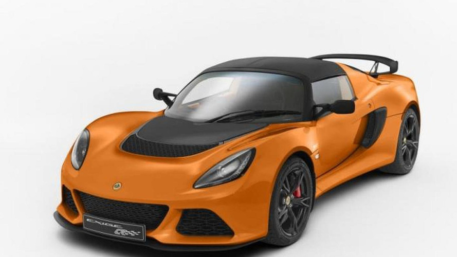 Lotus Exige S Club Racer announced; weighs 15 kg less than standard model
