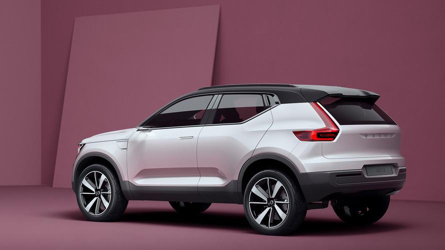SUV compacto da Volvo, XC40 de produção será apresentado em abril