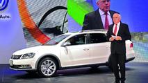 2012 Volkswagen Passat Alltrack world debut in Tokyo 30.11.2011