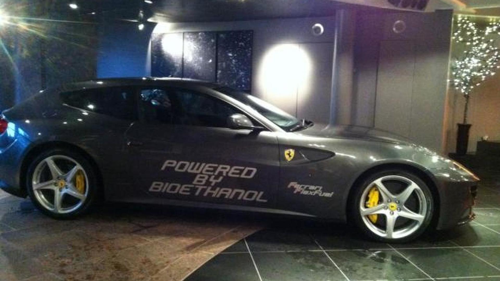 Ferrari FF with bio-ethanol E85 conversion produces 875bhp