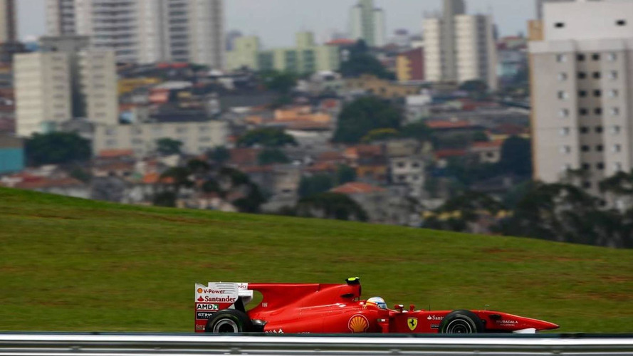 Blue skies for race but dark cloud over Brazil GP