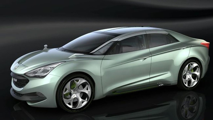 Hyundai Releases Second i-flow Concept (HED-7) Image and Details - Announces i30u Facelift