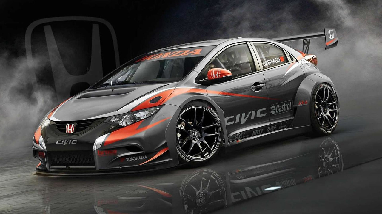 2014 Honda Civic hatchback WTCC