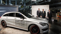 Mercedes CLA Shooting Brake goes into production [video]