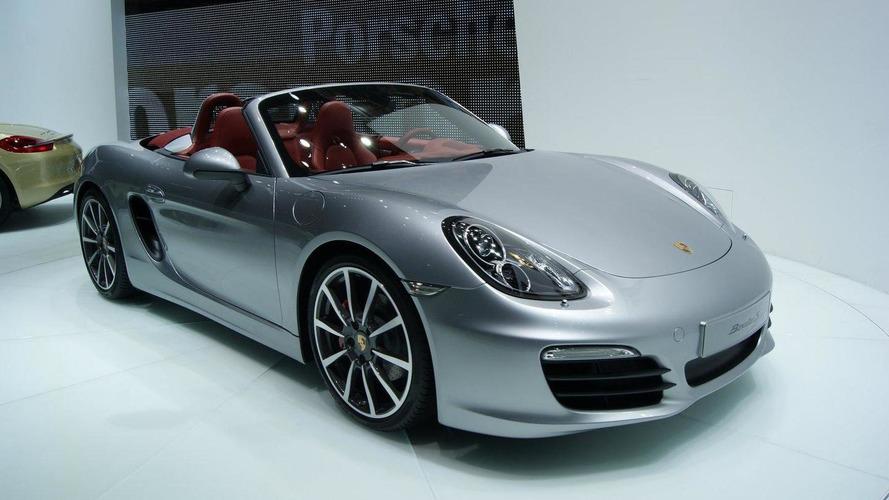 New 2013 Porsche Boxster unveiling in Geneva
