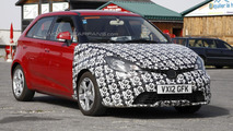 2013 MG 3 facelift spied in Europe