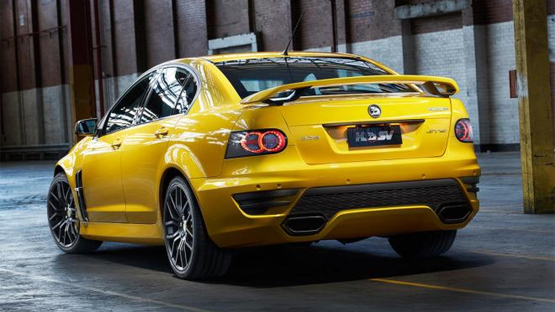 HSV GTS 25th Anniversary Edition announced