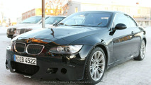 BMW M3 Coupe Convertible spy photos