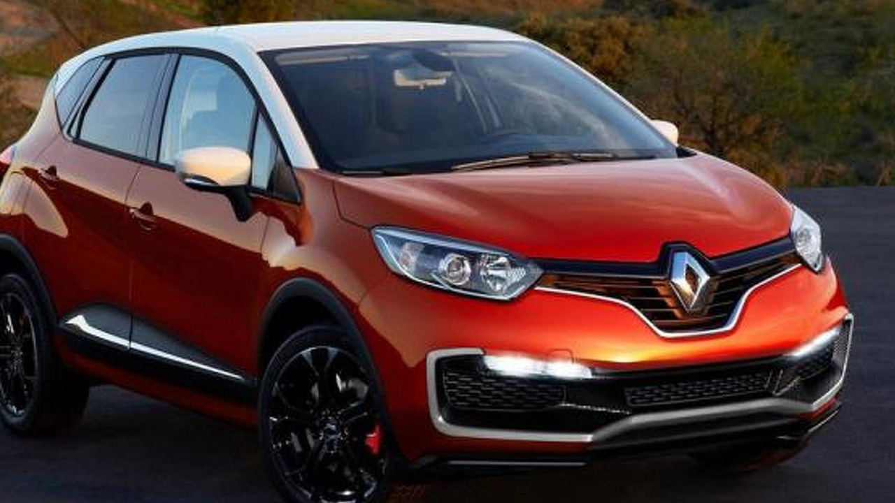 Renault Captur RS rendering 23.10.2013
