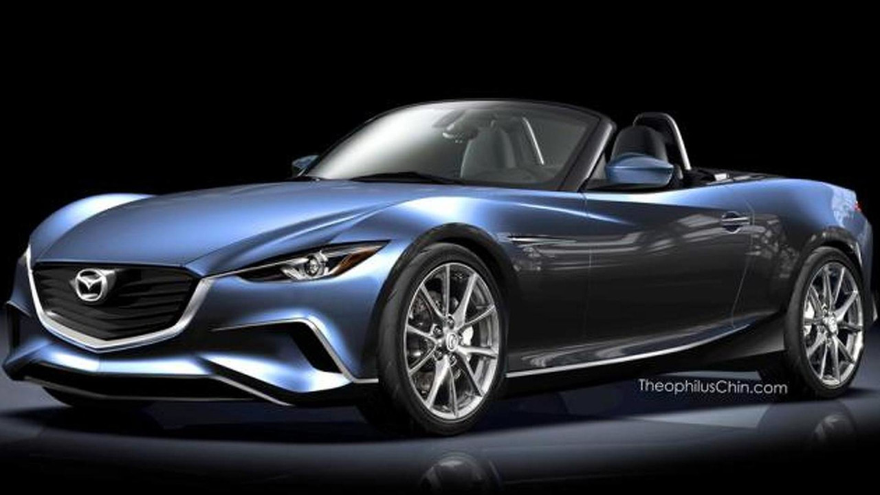 2015 Mazda MX-5 render