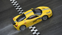 Ferrari 458 Challenge Evoluzione revealed with aerodynamic styling tweaks