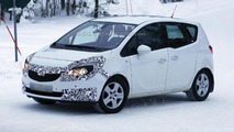 Opel Meriva spied getting ready for minor facelift