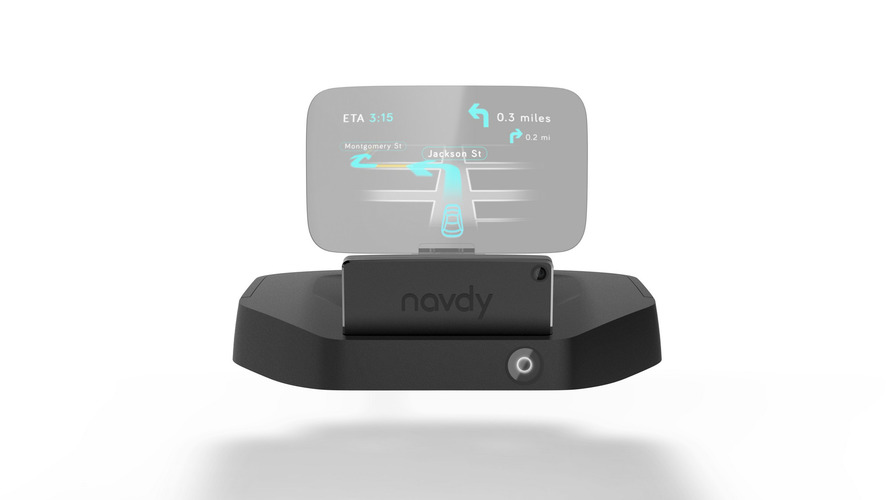 Harman Samsung deal sees Navdy dashboard projector as job one