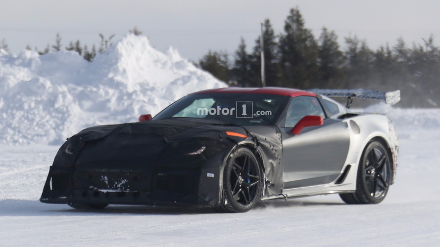 Chevy Corvette ZR1 looks cold in latest spy shots