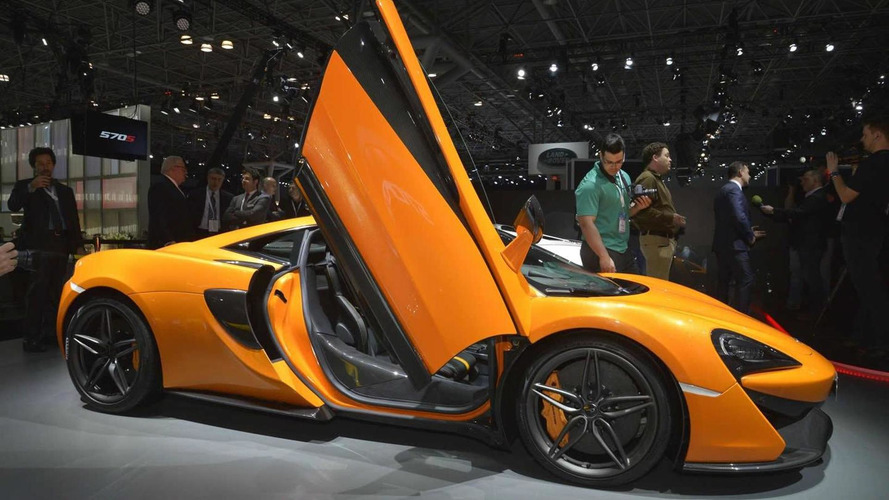 McLaren 570S Coupe makes world debut in New York