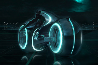 Evolve Xenon is a Real-Life TRON Light Cycle