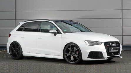 Audi RS3 tuned to 550 hp