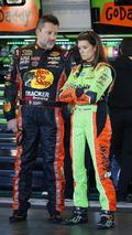 Tony Stewart, Danica Patrick in Pocono wreck
