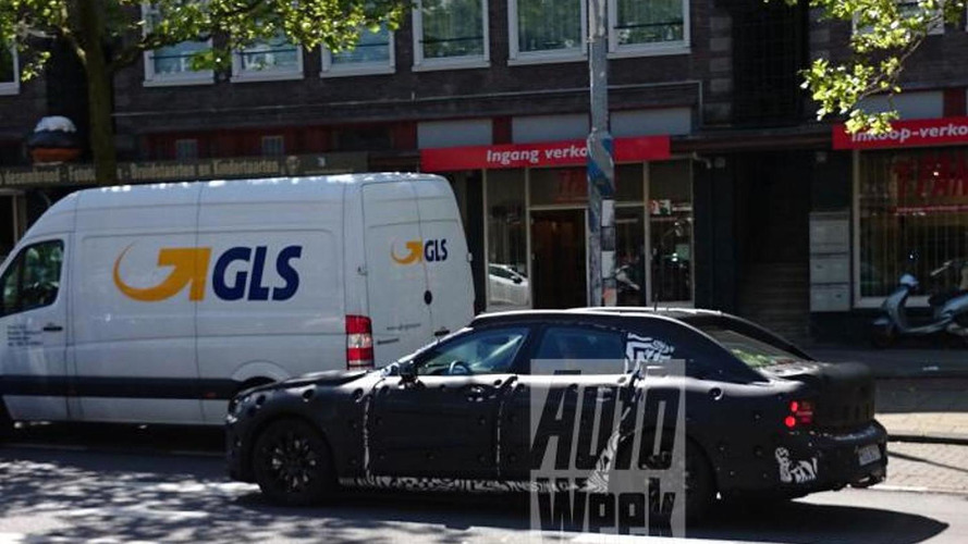 Volvo S90 spied testing for the first time [video]